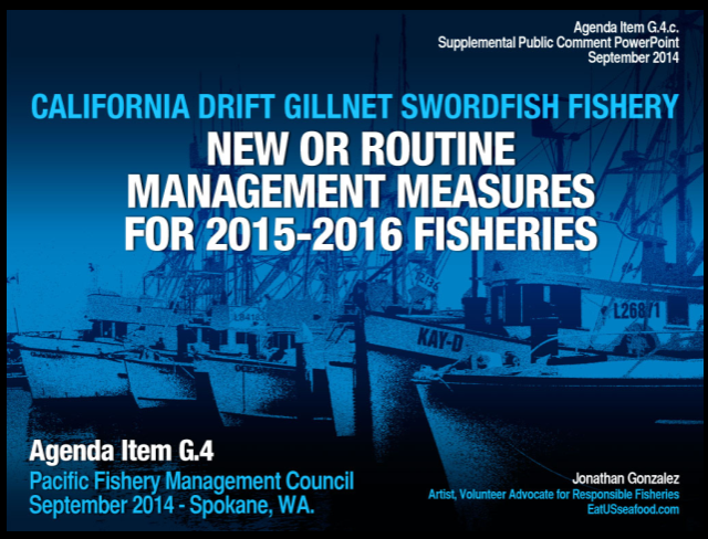 My September 2014 PFMC Presentation